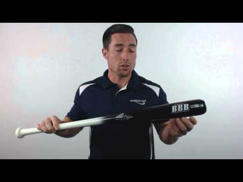 BamBooBat Bamboo Wood Baseball Bat: HWBB30M