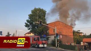 INFO Z REGIONU: Pożar domu jednorodzinnego w Rydułtowach na ulicy Raciborskiej