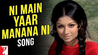 Ni Main Yaar Manana Ni Song | Daag | Rajesh Khanna
