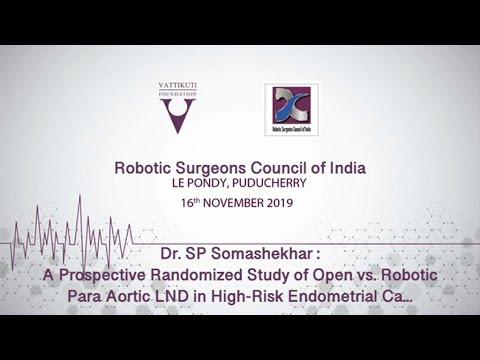 Open vs. Robotic Para Aortic LND Endo CA