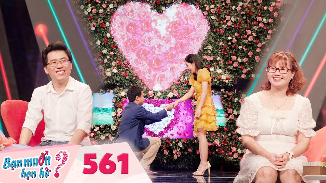 Bạn Muốn Hẹn Hò   Tập 561 FULL: Cô nàng được cầu hôn ngay lần đầu gặp mặt khiến trường quay bất ngờ
