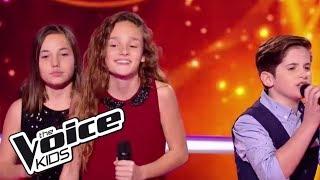 """Pauline / Thibault / Clarisse - """"Nos secrets""""   The Voice Kids France 2017   Battle"""