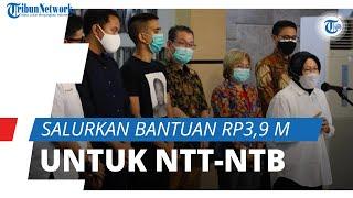 Salurkan Bantuan Rp3,9 M untuk Korban di NTT dan NTB, Kemensos Minta Masyarakat Saling Bahu Membahu