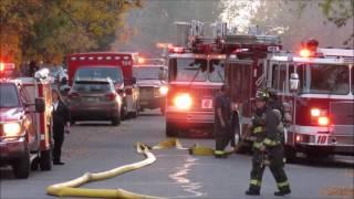 SE Aurora House Fire 10 20 16