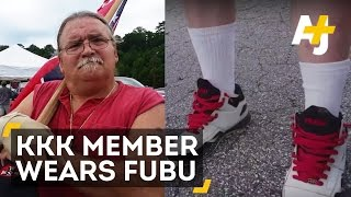 KKK Member Confronted For Wearing FUBU At Confederate Flag Rally, Doesn't See A Problem