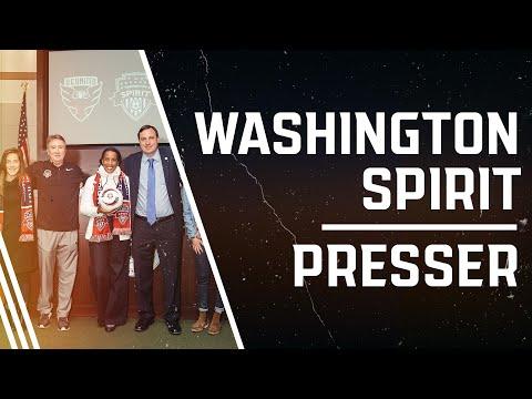 Washington Spirit, D.C. United & Loudoun United FC Press Conference