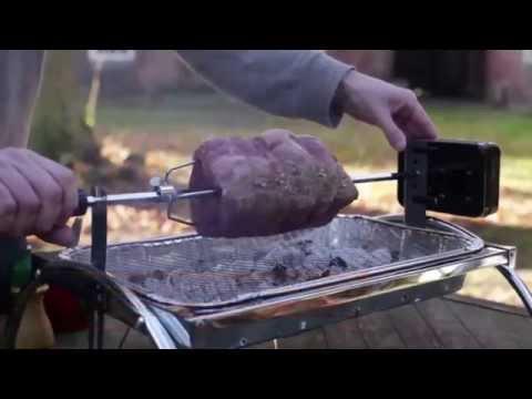 Asado Barbecue con Spiedo Girevole