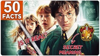 Harry Potter 50 Facts You Didnt Know