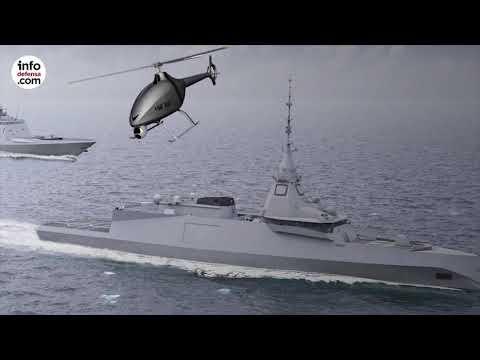Así es el helicóptero no tripulado VSR700 de Airbus Helicopters