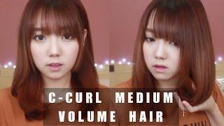 EASY & QUICK C-curls Medium Volume Hair X GLAMPALM ♥
