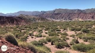 Youtube VideoAbenteuer 100 Tage Südamerika: Tagesausflug in Tupiza Ausblick vom Puerta del Diablo