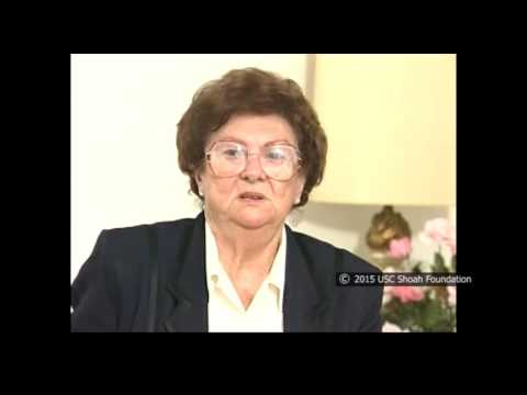 La sobreviviente del Holocausto Mary Robinson recuerda el bombardeo de la marcha cerca de Ronsperg