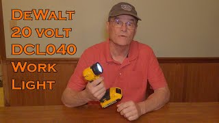 DeWalt Work Light 20 volt  DCL040 Flashlight