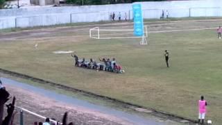 preview picture of video 'Mocambola2014 Ferroviário de Nampula festa 3 golo contra Fer Mpt'
