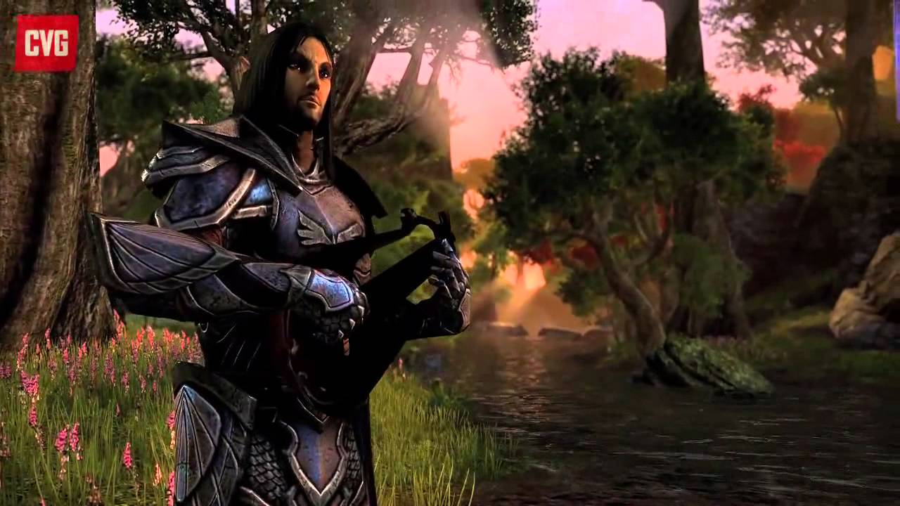Elder Scrolls Online: видео -  First person, combat and more! (RUS)