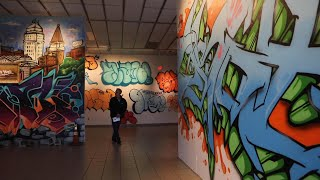 Graffiti Artists Invited To Paint On Site At Morris Museum Art Exhibition