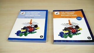 Unofficial LEGO Technic Builder's Guide: 2nd edition look through & comparison