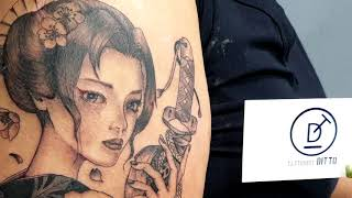 게이샤타투 (Geisha Tattoo)