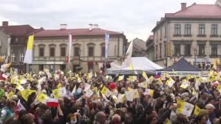preview picture of video 'Kanonizacja Jana Pawła II. Wadowice'
