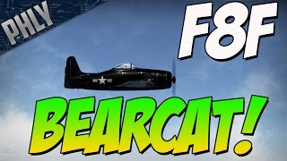 War Thunder F8F GAMEPLAY - EASY MODE ACTIVATED