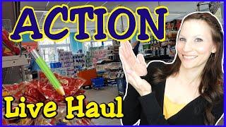 ACTION LIVE HAUL | Bastelzeug | Deko | Spielzeug