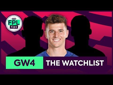 GW4: FPL WATCHLIST | Gameweek 4 | Fantasy Premier League Tips 2019/20