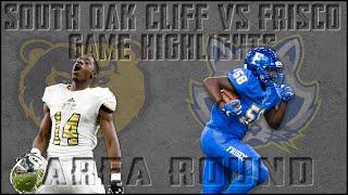 South Oak Cliff vs Frisco - 2019 Texas High School Football Playoffs Week 2 Highlights