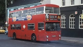 preview picture of video 'UK Buses in the mid-1980s (audio)'