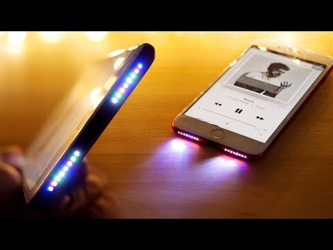 Glowing Speaker iPhone Mod! See Your Music in RGB!