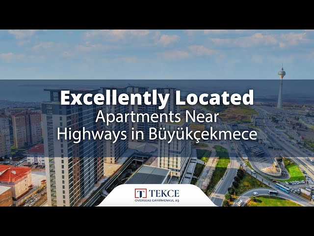 Sea and Lake View Apartments in Great Location in Istanbul