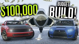 $100,000 Budget Build... IN GTA 5?!
