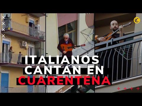 Video: Coronavirus: italianos cantan desde los balcones
