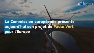Un pacte vert pour l'Europe !