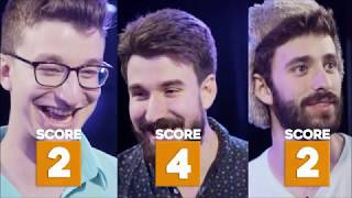 AJR try not to laugh