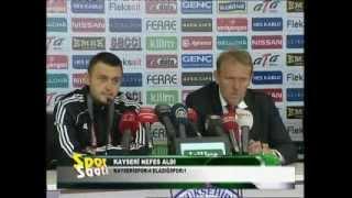 Tv Kayseri Spor Saati Mustafa Duran Kenan Burhan 8 nisan 2013