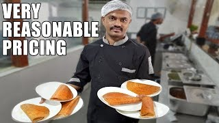 Pure VEG Most Hygienic Breakfast Place   Try their Full Menu for 100 Rs   Indian Food   Masala Dosa