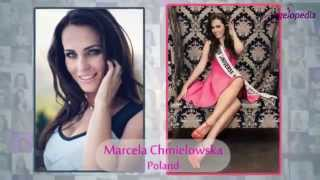 Miss Universe 2014 Contestants from Europe