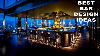 💗 Best  Bar Design Ideas 💗  Restaurant, Furniture ,Chairs ,Bar Stool, Decor,  ,  Bar Counter