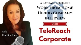 A Work from Home Interview with TeleReach
