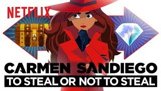 Carmen Sandiego: To Steal or Not to Steal (2020) Video