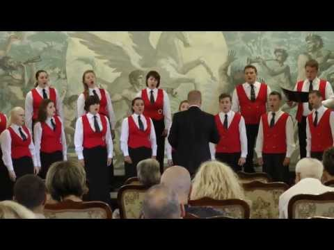 "Anthony Sylvestre - Libera Me (Ukrainian choir ""Ave Musica"" @ Bulgaria)"