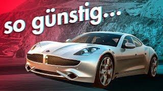 5 Autos die dich reich aussehen lassen! | RB Engineering | Fisker Karma