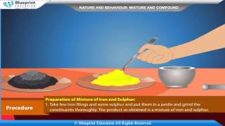 To prepare a mixture, a compund and distinguish them on the basis of appearance, behaviour towards m