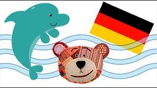 Nombres y sonidos de los animales para niños en alemán