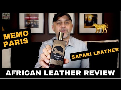 Memo Paris African Leather Review + Full Bottle USA Giveaway