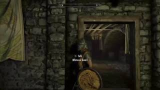 Skyrim getting stuff back after being in Jail - Whiterun