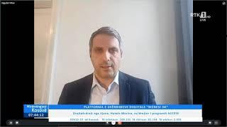 Mirëmëngjesi Kosovë -Drejtpërdrejt nga Vjena, Hamëz Morina, zv/drejtor i programit ACCESS 16.04.2021