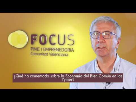 """Prudencio López: """"La economía del bien común no es ninguna utopía""""[;;;]Prudencio López: """"L'economia del bé comú no és cap utopia""""[;;;]"""