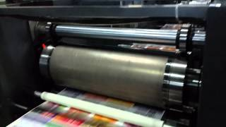 preview picture of video 'WJPS 450 intermittent offset printing machine'