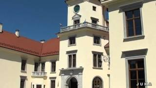 preview picture of video 'Tarnobrzeg - Hejnał miasta / Zamek w Dzikowie  / 2012rok'